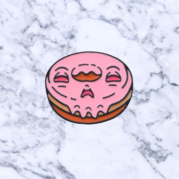 Jewelry - Monster Donut Enamel Pin